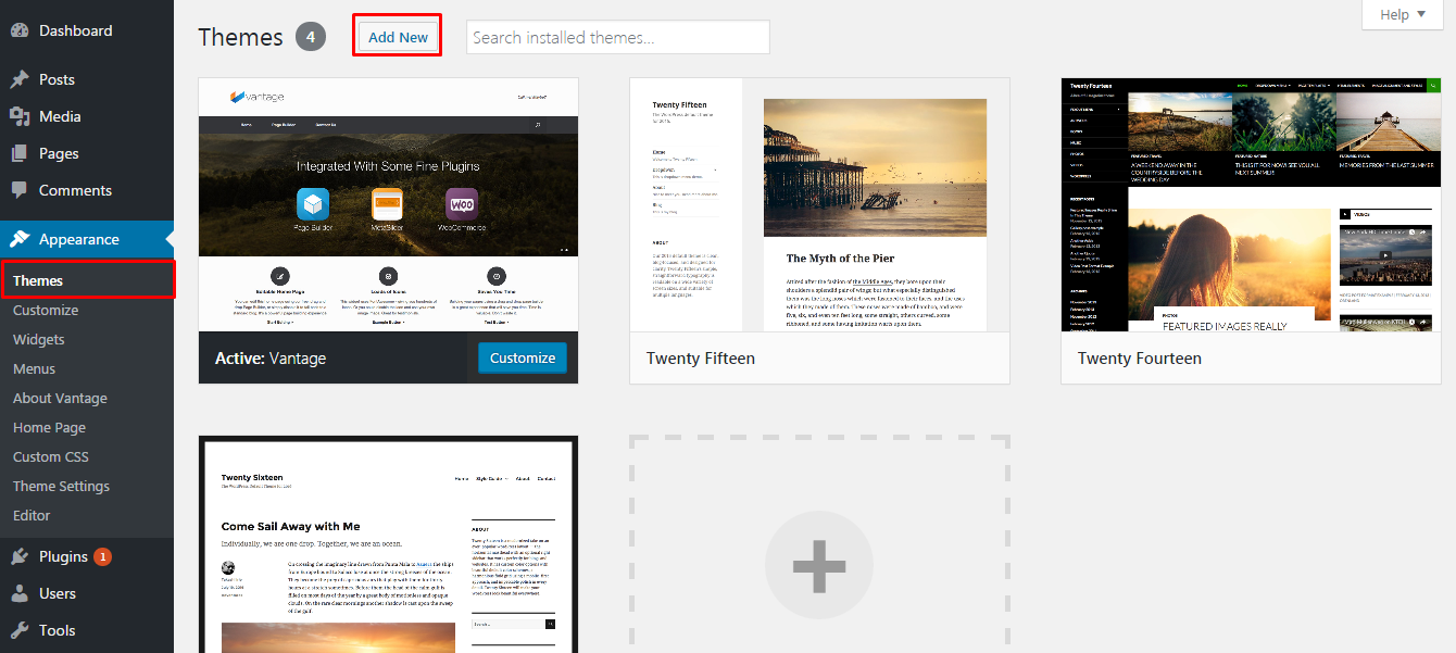 How to Install Free WordPress Theme