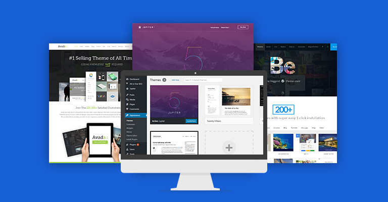 install Free & Paid WordPress themes