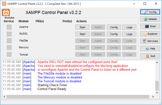avigate to the XAMPP subfolder