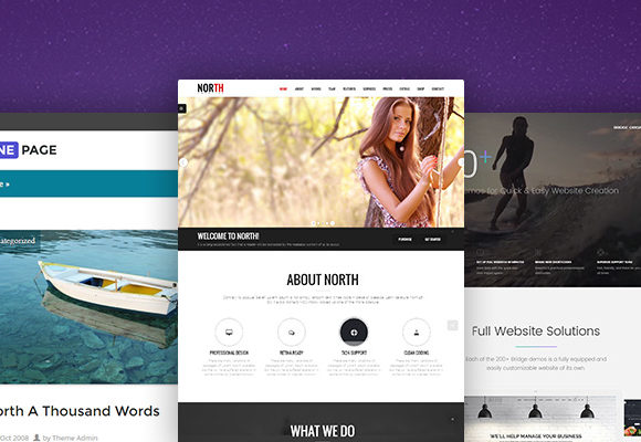 Best One-Page WordPress Themes (Free & Paid)
