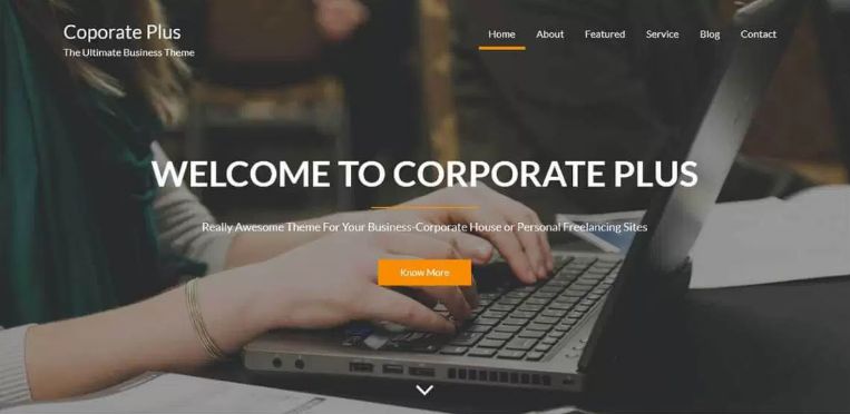 corporate plus theme