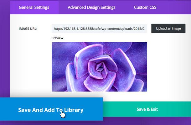 create reusable content with divi library