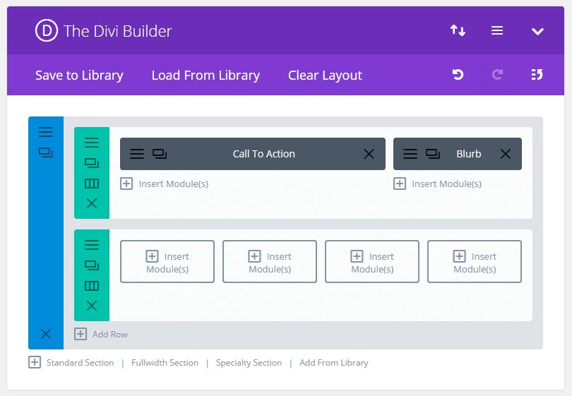 divi theme builder options