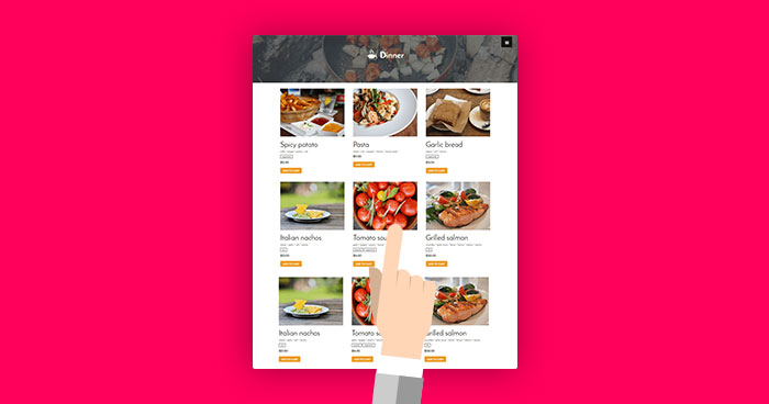build a Restaurant Website in WordPress
