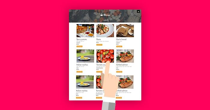 build a Restaurant Website in WordPress