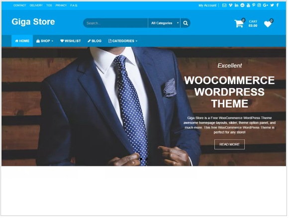 Giga Store Theme