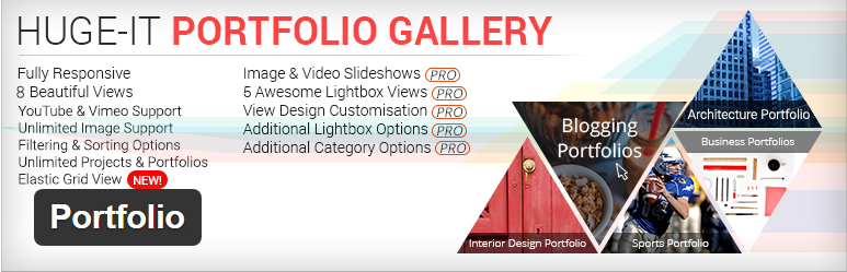 Huge-IT Portfolio Gallery plugin