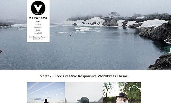 Vertex Free Responsive Theme By Dessign
