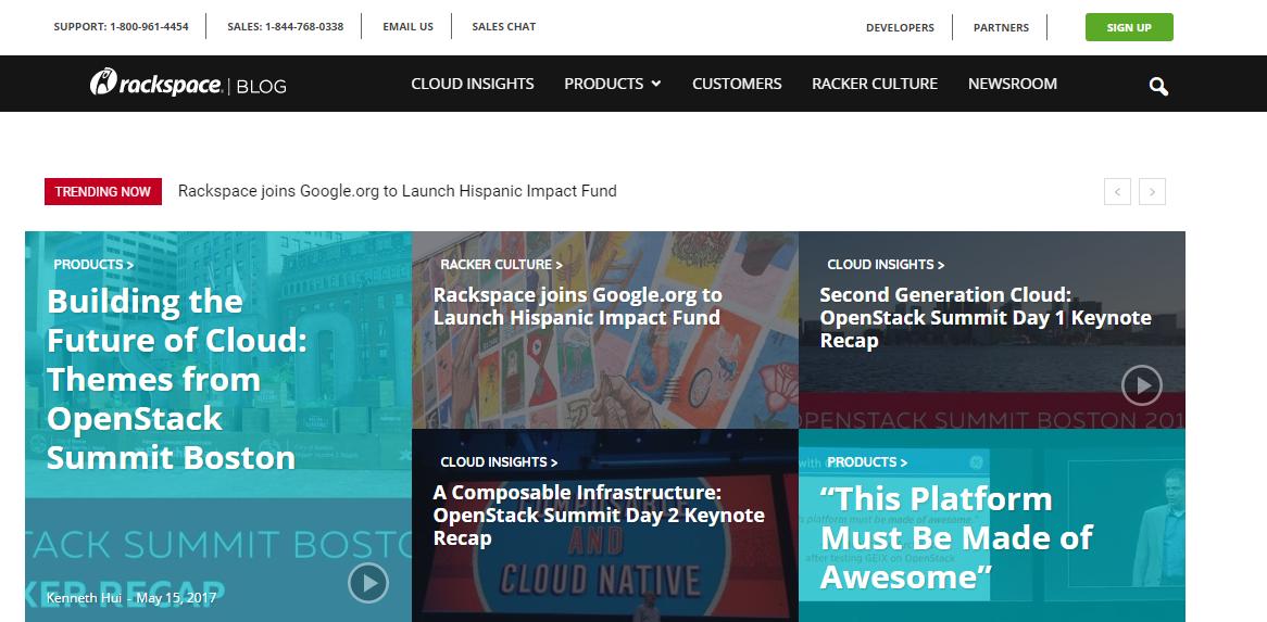 Official Rackspace Blog