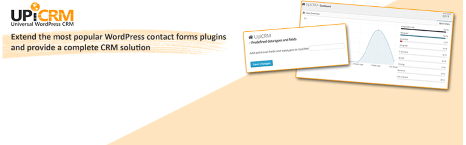 UpiCRM the free WordPress CRM plugin