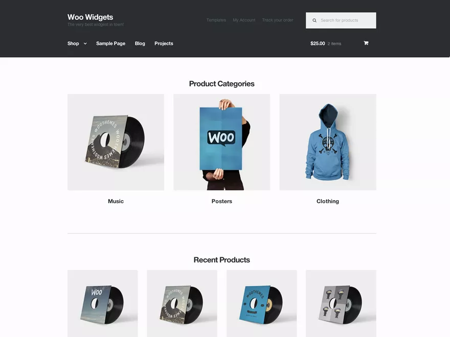 StoreFront best woocommerce WordPress theme