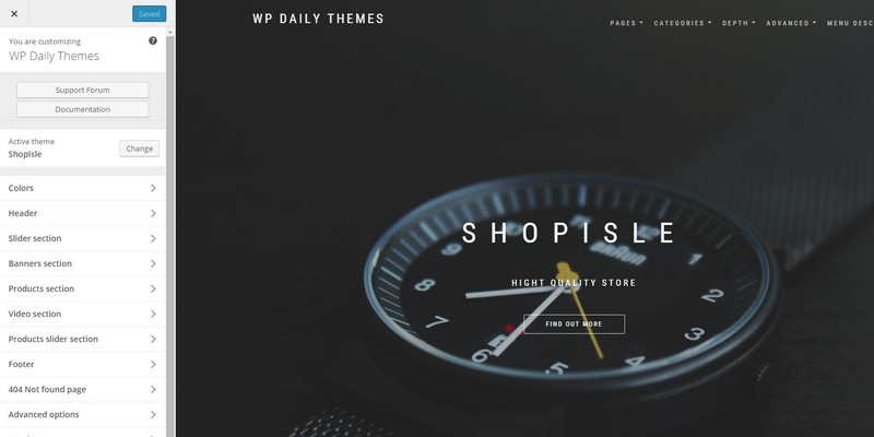 ShopIsle best woocommerce theme