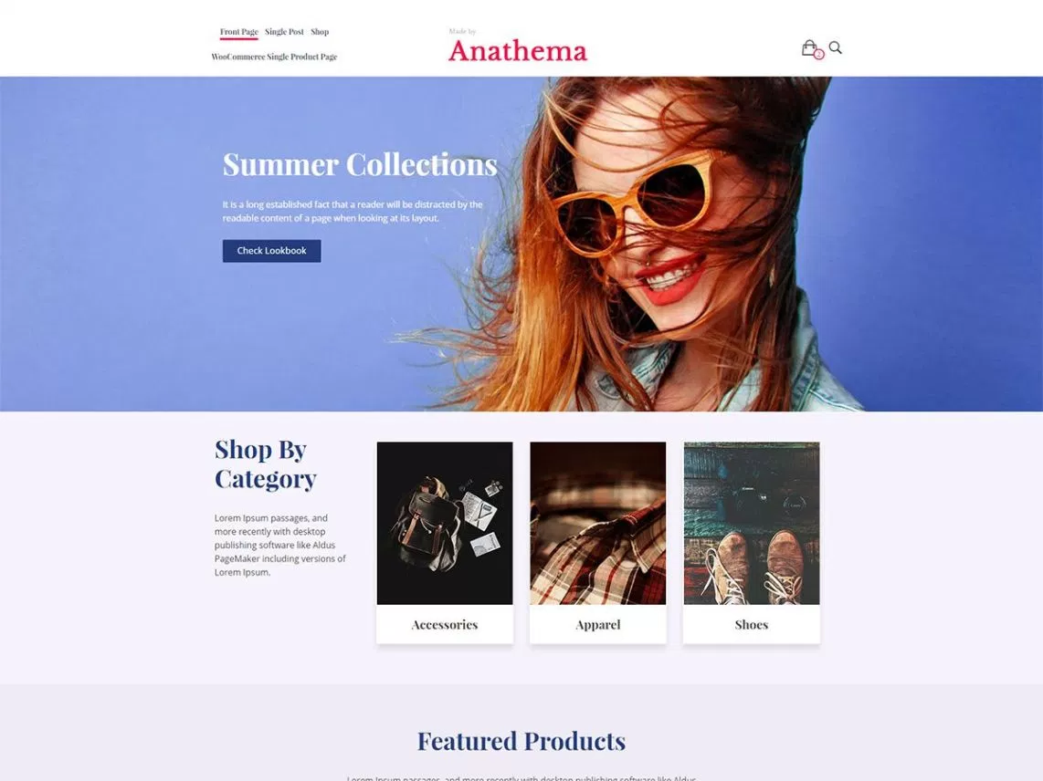 Bellini best woocommerce theme
