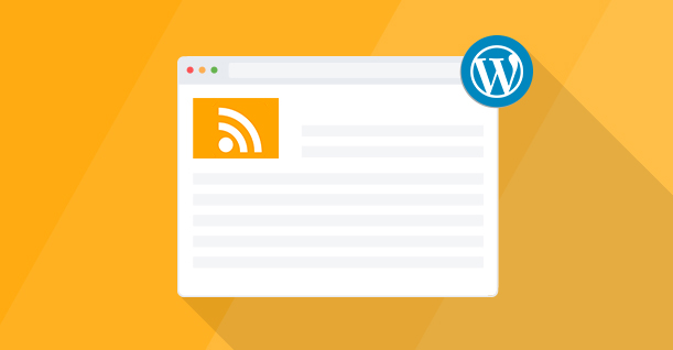 WordPress rss feed plugin