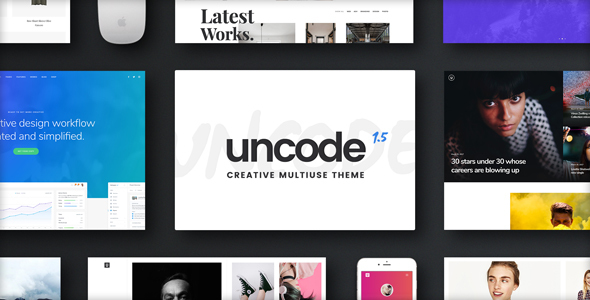 Uncode wordpress themes for business