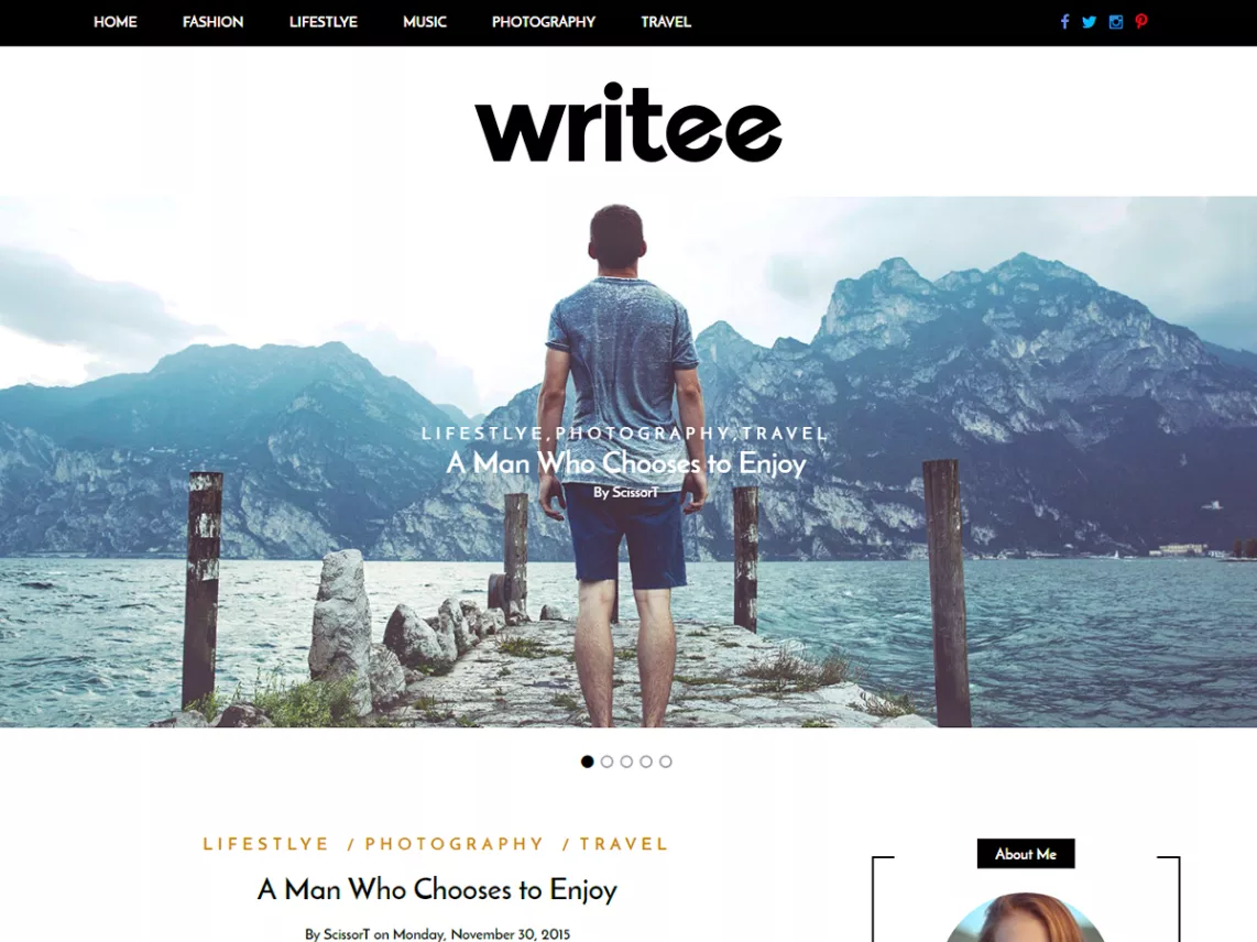 Writee theme