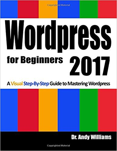 A Visual Step-by-Step Guide to Mastering WordPress ebook
