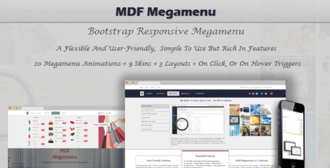 MDF Mega Menu wordpress plugin