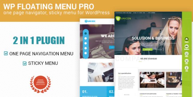 WP Floating Menu Pro WordPress Plugin