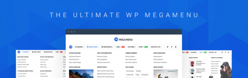 Best WordPress Mega Menu Plugins in 2019