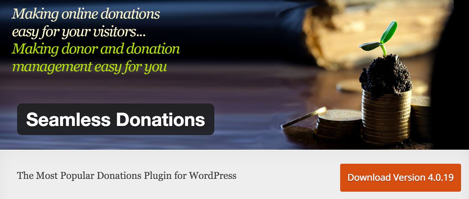 Seamless Donations Plugin