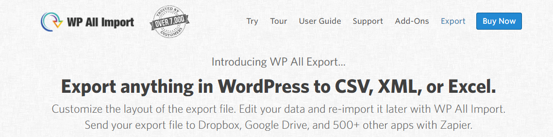 The Top Export and Import Plugins for WordPress in 2017