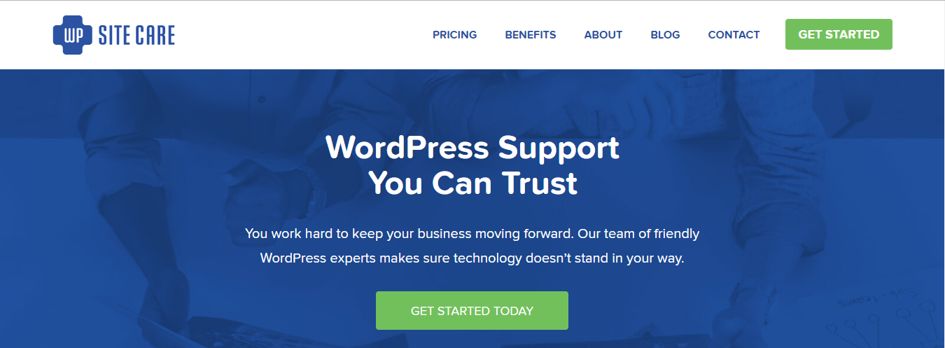 WP Site Care WordPress maintenance & Support service