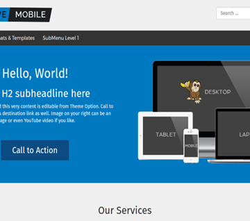 Responsive II – Free Mobile-Friendly WordPress Theme Review