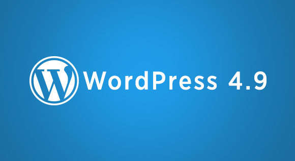 WordPress 4.9 Released! Features and Updates with Screenshots.