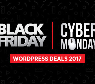 WordPress Black Friday & Cyber Monday Deals 2017