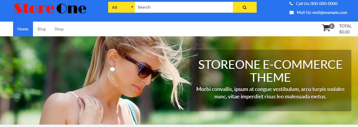 StoreOne Woocommerce WordPress Theme