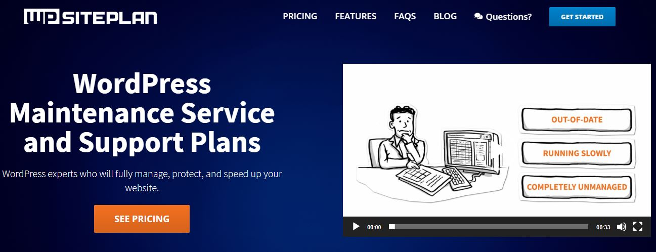 WP SitePlan maintenance & support services for WordPress