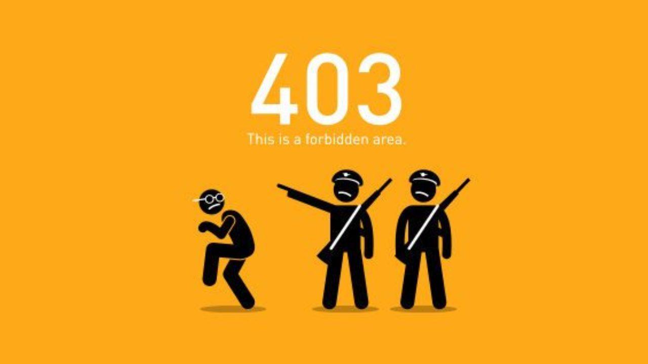 How to Fix WordPress 403 Forbidden Errors in Websites