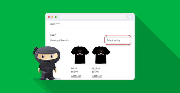 WooCommerce sort option