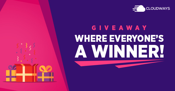 Cloudways Giveaway – Win $100 Hosting Credit for Your WordPress Website!
