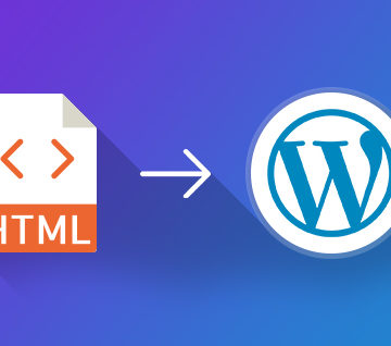 How to Convert an HTML template to a WordPress Theme
