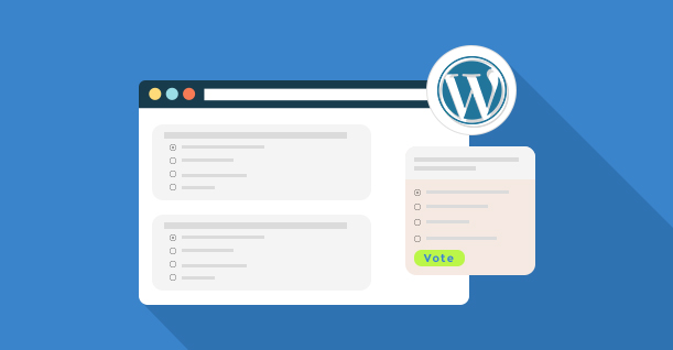WordPress poll plugins