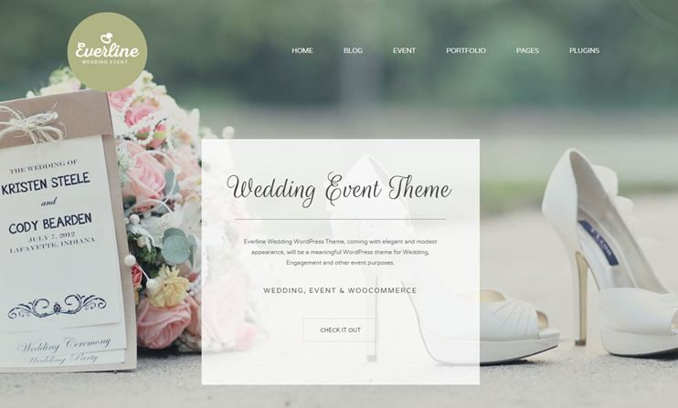 Everline WordPress Event Theme