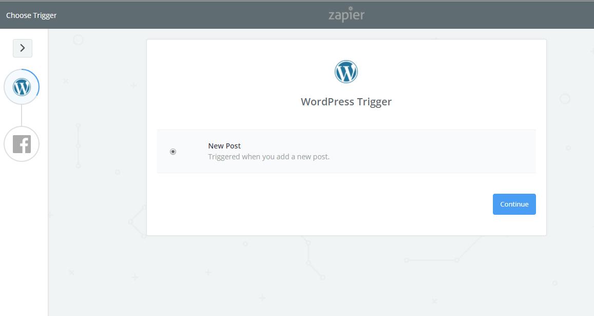 WordPress trigger