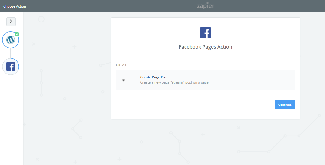 connecting facebook account