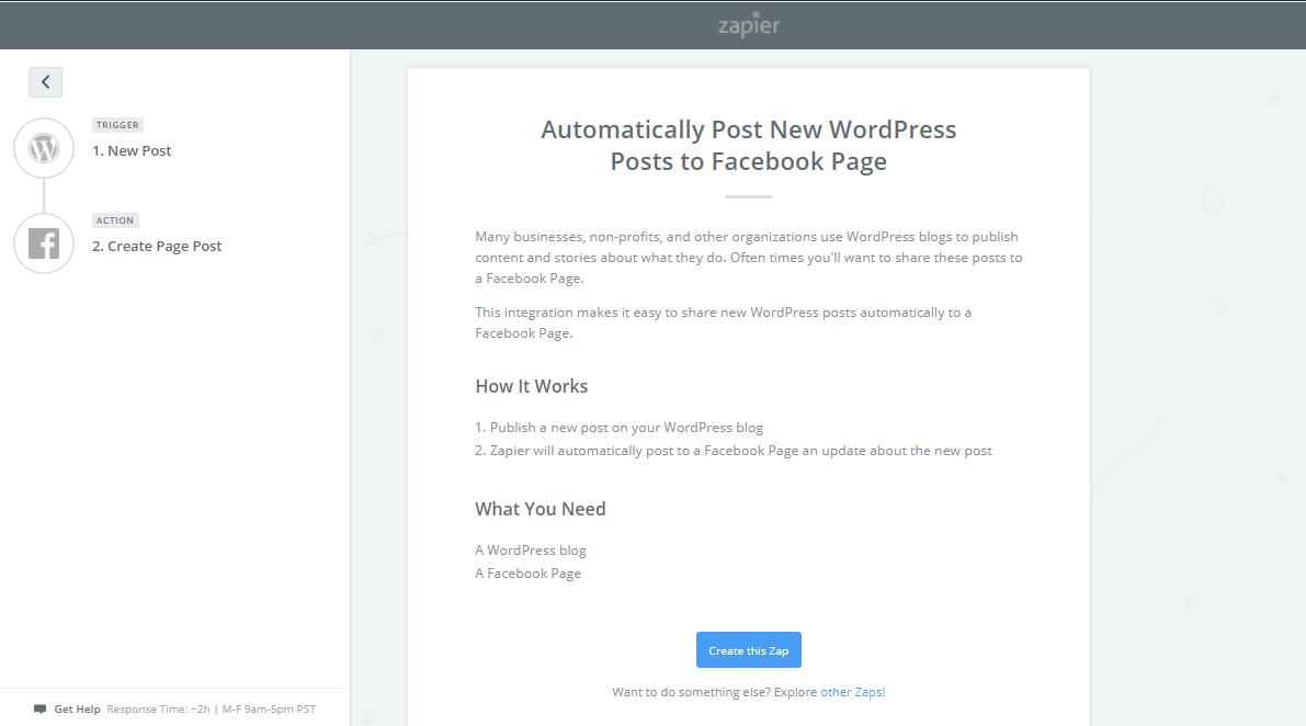post new WordPress post