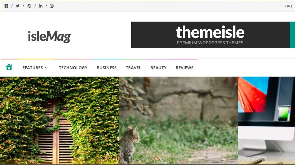 IsleMag WordPress theme for tech magazines