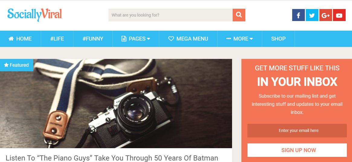 20 Fastest Loading WordPress Themes for Accelerated Page Speed in 2019 17