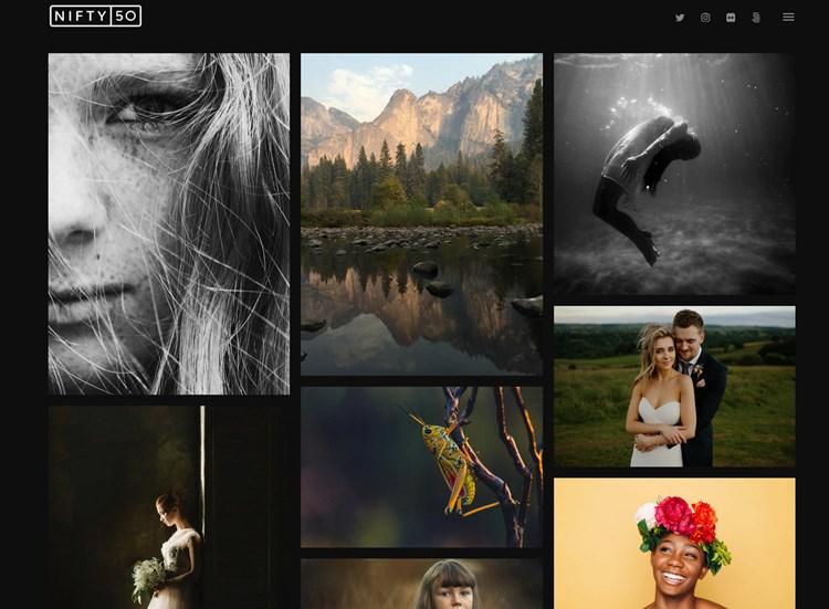 nifty fifty theme WordPress theme
