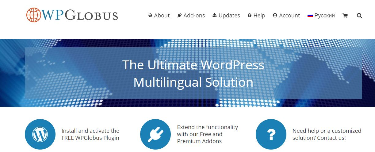 WPGlobus wordpress multilingual plugin