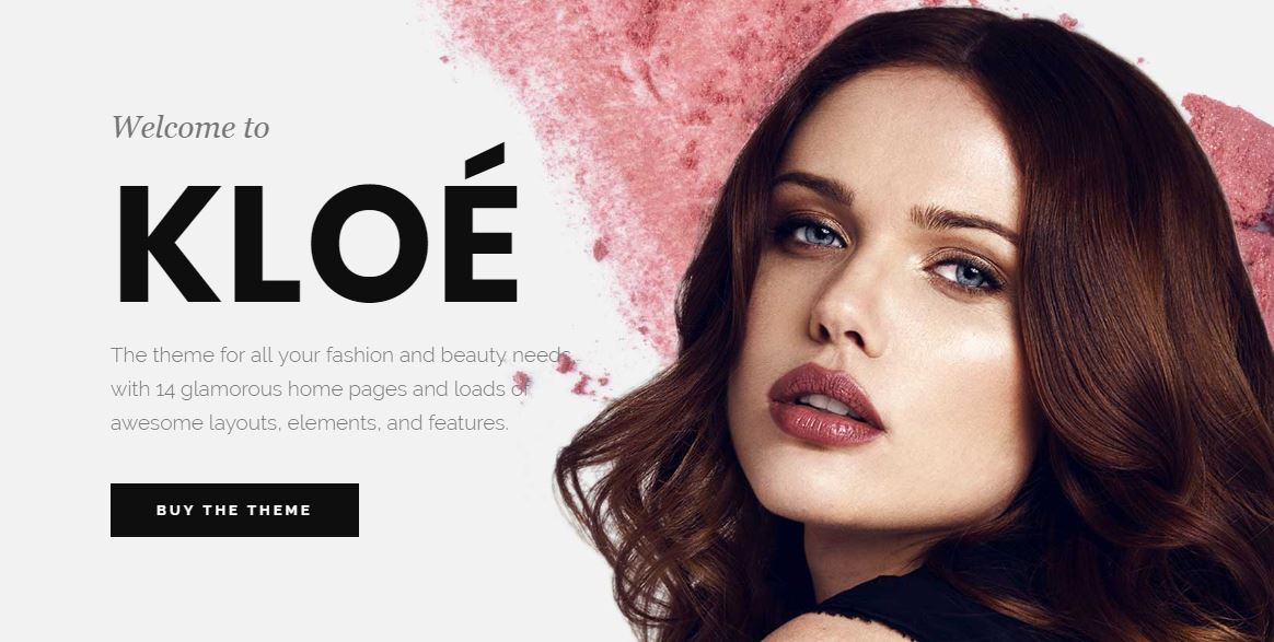 Kloe Fashion Theme for WordPress