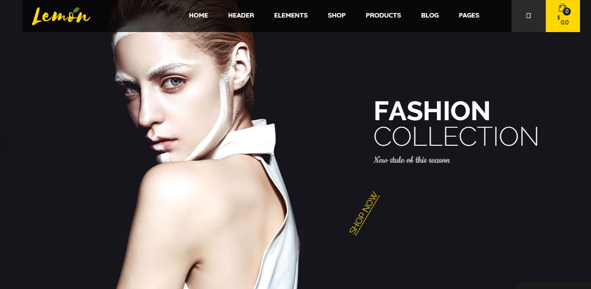 Lemom fashion blogger wordpress themes