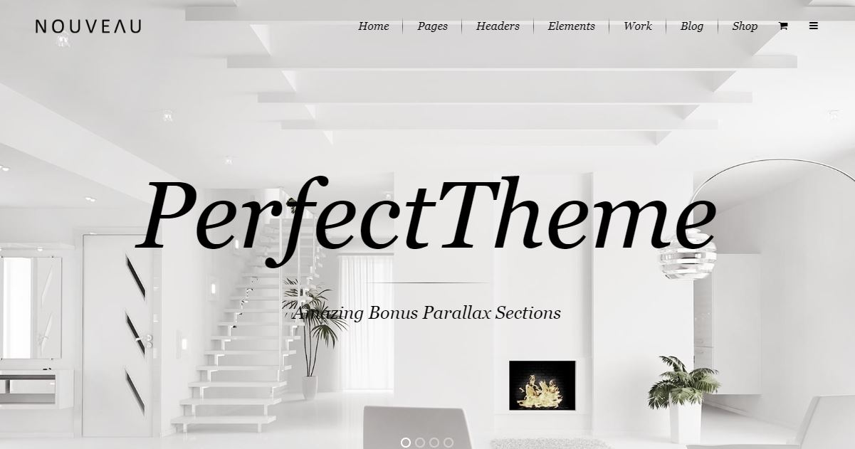 Nouveau fashion blog templates themes
