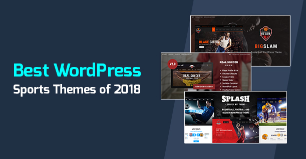 20 Best WordPress Sports Theme for Sports Websites in 2018