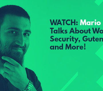 WATCH: Mario Peshev Talks About WordPress Security, Developers and the Future